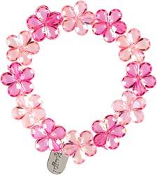 Souza Armband Fern, bloemenkralen roze (1 stuk)