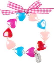 Souza Armband Aya, hartjes multicolour (1 stuk)