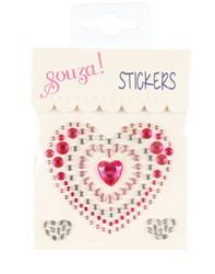 Souza Fun stickers hart, kleurstelling 1 (1 velletje)