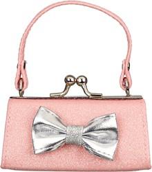 Souza Portemonee Julide, l. roze glitter tas model met zilveren strik (1 stuk)