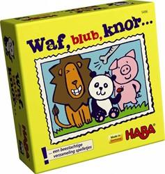 HABA Supermini Spel - Waf, blub, knor…
