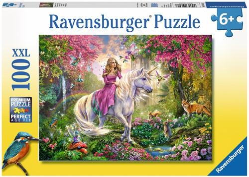 Ravensburger puzzel Magisch ritje - legpuzzel - 100 stukjes
