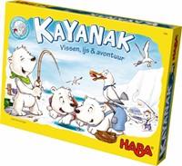 Haba  kinderspel Kayanak - Vissen, ijs & avontuur 7324-1