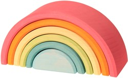 Grimm's Pastel Rainbow, 6 pieces