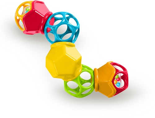 Oball Clickity Twister Easy Grasp Rattle