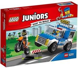 Lego  Juniors set Politietruck achtervolging 10735