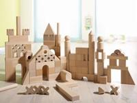 Haba  houten bouwblokken Extra groot basispakket 1077-3