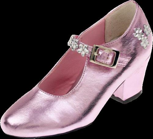 Souza Schoentjes hoge hak Madeleine, roze metallic, mt. 25 (1 paar)