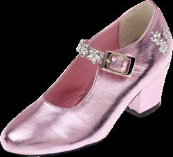Souza Schoentjes hoge hak Madeleine, roze metallic, mt 33 (1 paar)