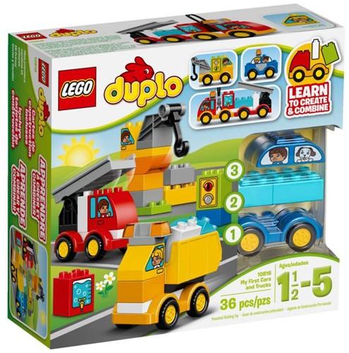 LEGO Duplo Mijn Eerste Wagens En Trucks  Duplo10816