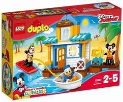 Lego  Duplo set Mickey en Friends strandhuis 10827