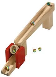 Haba  houten knikkerbaan accessoires Uitbreiding Kiepemmer 1094
