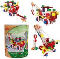 Baufix  houten constructie speelgoed Supermix 11000-2