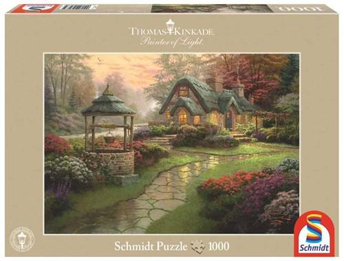Schmidt legpuzzel Make a Wish Cottage, 1000 stukjes