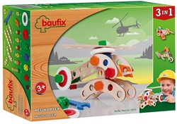 Baufix  houten constructie speelgoed Helikopter 10210