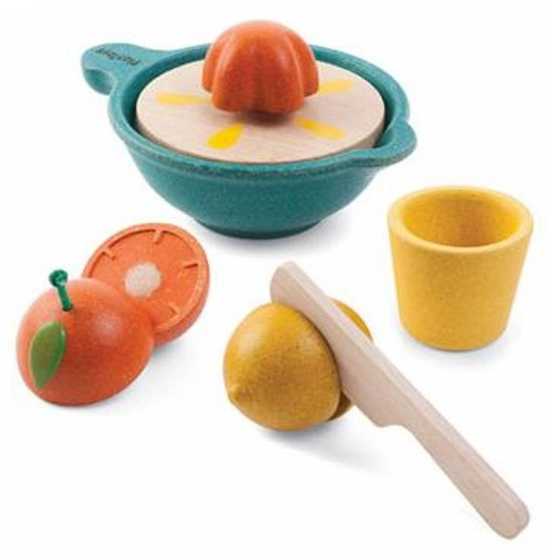 Plan Toys  houten keuken accessoires Juicer set