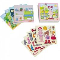 Haba  kinderspel Magneetspel Aankleedpop Lilli 7392-2