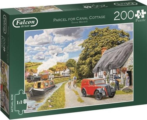 Jumbo puzzel Falcon Parcel for Canal Cottage - 200 XL stukjes