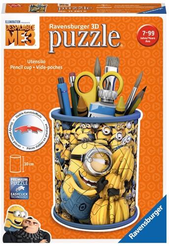 Ravensburger Despicable Me Pennenbak - 3D puzzel - 54 stukjes