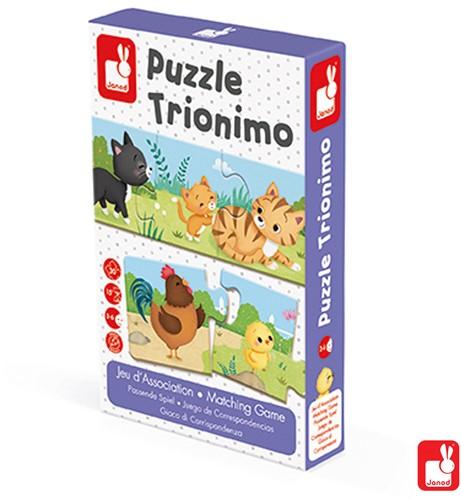 Janod Spel - matching - trionimo