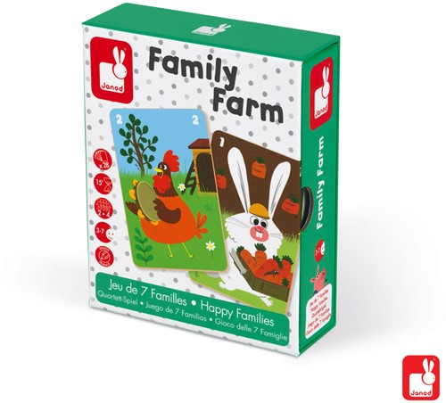 "Kwartetspel ""Family Farm"""