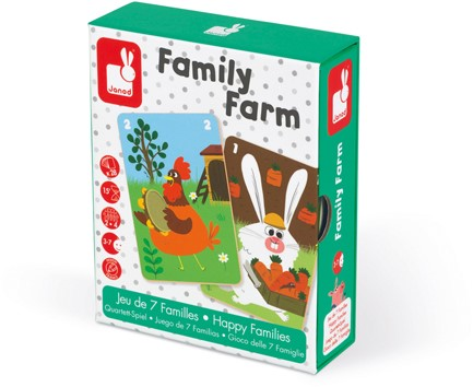 "Kwartetspel ""Family Farm"""