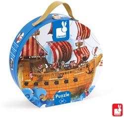 Janod Puzzelkoffer - piratenschip