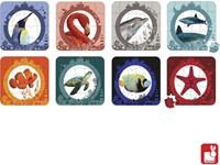 Janod  legpuzzel Zee en Oceaan puzzel - 16, 20, 24 en 30 stukjes