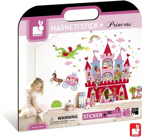 Janod  decoratie Muursticker princes magnetisch-1