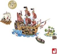Janod  decoratie Muursticker piraten magnetisch-2