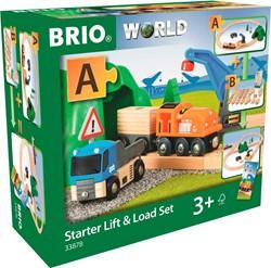 BRIO trein Lift & Load starterset A  33878