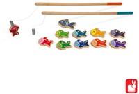 Janod Spel - behendigheid - visspel laten we gaan vissen