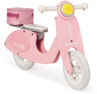 Janod Scooter - Mademoiselle roze