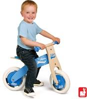Janod Bikloon loopfiets - mijn eerste loopfiets blauw