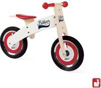 Janod  houten loopfiets Bikloon rood/wit-1