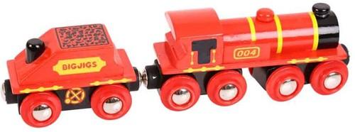 BigJigs Big Red Engine-2