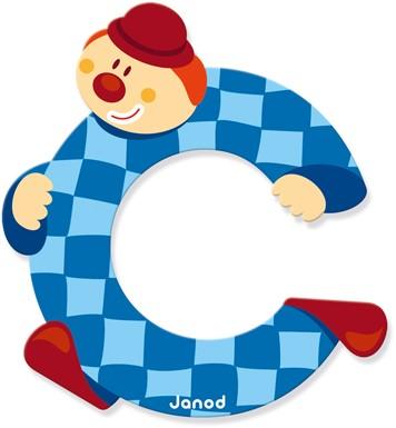 Janod Clown Letter -  C