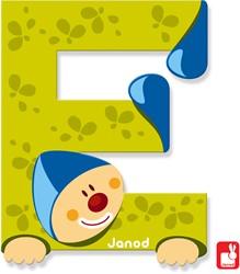 Janod Clown Letter - letter E