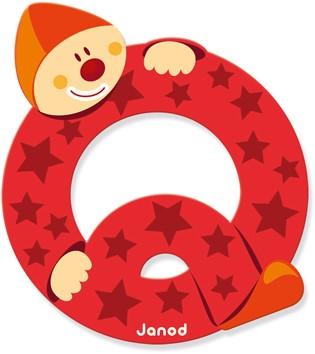 Janod Clown Letter -  Q