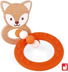 Janod Baby Pop - bijtring vos