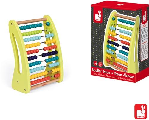 Janod Tatoo - abacus telraam