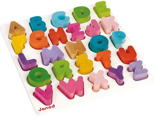 Puzzle I Wood Alfabet