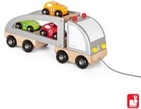 Janod Vrachtwagen met 3 auto's