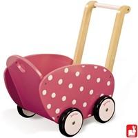 Janod  houten poppen meubel Poppenwagen Framboisine-1