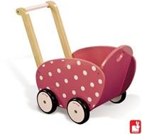 Janod  houten poppen meubel Poppenwagen Framboisine-2