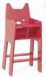 Janod  houten poppen meubel Babycat kinderstoel