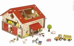 Janod Story houten speelstad set Boerderij