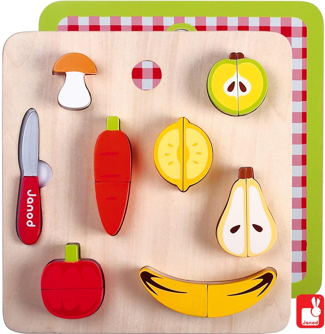 364b3caef11854 Janod Chunky groente & fruit magnetisch bij Planet Happy
