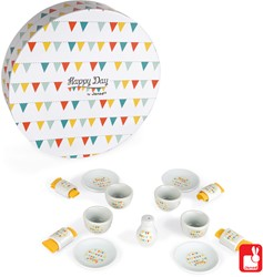 Janod Keukentje - Happy Day diner-set