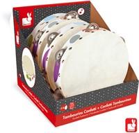 Janod Confetti - tamboerijn met trommelvel in display (4)